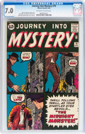 Silver Age (1956-1969):Horror, Journey Into Mystery #79 (Marvel, 1962) CGC FN/VF 7.0 Off-white towhite pages....