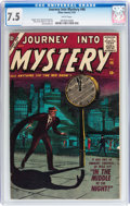 Silver Age (1956-1969):Horror, Journey Into Mystery #46 (Marvel, 1957) CGC VF- 7.5 White pages....