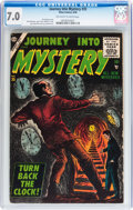 Silver Age (1956-1969):Horror, Journey Into Mystery #35 (Marvel, 1956) CGC FN/VF 7.0 Off-white towhite pages....