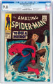 The Amazing Spider-Man #52 (Marvel, 1967) CGC NM+ 9.6 Off-white to white pages