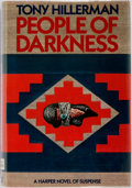Books:Mystery & Detective Fiction, Tony Hillerman. SIGNED. People of Darkness. New York: Harper & Row, [1980]. First edition. Publisher's binding, with...