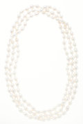 Estate Jewelry:Necklaces, Freshwater Cultured Pearl Necklace. ...