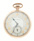 Timepieces:Pocket (post 1900), Illinois 21 Jewel Gold Filled Pocket Watch. ...