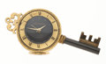 Timepieces:Clocks, Swiza Sheffield Key Shape Alarm Clock. ...