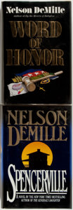Books:Mystery & Detective Fiction, Nelson DeMille. Word of Honor and Spencerville. NewYork: Warner, 1985 and 1994. First editions. Publish... (Total: 2Items)
