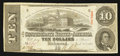 Confederate Notes:1863 Issues, T59 $10 1863 PF-12 Cr. 440.. ...