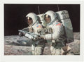 "Explorers:Space Exploration, Alan Bean Signed Large Limited Edition ""Helping Hands"" Lithograph,#467/850...."