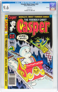 Modern Age (1980-Present):Humor, Friendly Ghost Casper #223 File Copy (Harvey, 1982) CGC NM+ 9.6White pages....