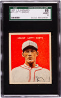 Baseball Cards:Singles (1930-1939), 1932 U.S. Caramel Lefty Grove #27 SGC 88 NM/MT 8 - Pop Two, NoneHigher! ...