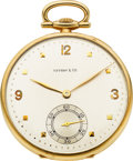 Timepieces:Pocket (post 1900), International Watch Co. Gold Watch For Tiffany & Co.. ...