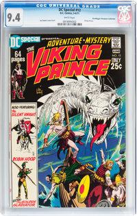 DC Special #12 Viking Prince - Don/Maggie Thompson Collection pedigree (DC, 1971) CGC NM 9.4 White pages