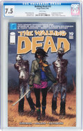 Modern Age (1980-Present):Horror, Walking Dead #19 (Image, 2005) CGC VF- 7.5 White pages....