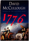 Books:Americana & American History, David McCullough. 1776. New York: Simon and Schuster,[2005]. First edition, first printing. Publisher's binding and...