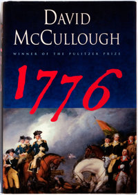 David McCullough. 1776. New York: Simon and Schuster, [2005]. First edition, first printing. Pu