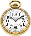 Timepieces:Pocket (post 1900), Waltham 23 Jewel Vanguard Model 1623, Circa 1948. ...