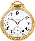 Timepieces:Pocket (post 1900), Illinois 23 Jewel Bunn Special, Circa 1914. ...