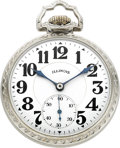 Timepieces:Pocket (post 1900), Illinois Sixty Hour Sangamo Special, Circa 1927. ...