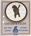 Baseball Collectibles:Pins, 1932 Chicago Cubs World Series Press Pin....