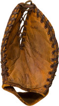 Baseball Collectibles:Others, 1940's Shoeless Joe Jackson Store Model Nokona Glove....