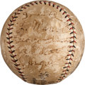 Autographs:Baseballs, 1929 Pittsburgh Pirates Team Signed Baseball....