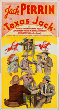"Movie Posters:Western, Texas Jack (William Steiner, 1935). Three Sheet (41"" X 79""). Western.. ..."