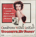 "Movie Posters:Romance, Goodbye, My Fancy (Warner Brothers, 1951). Six Sheet (79"" X 80""). Romance.. ..."