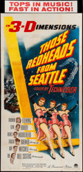 "Movie Posters:Musical, Those Redheads from Seattle (Paramount, 1953). Three Sheet (41"" X 79"") 3-D Style. Musical.. ..."