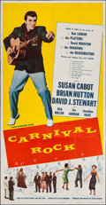 "Movie Posters:Rock and Roll, Carnival Rock (Howco, 1957). Three Sheet (41"" X 79""). Rock andRoll.. ..."