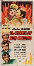 "Movie Posters:Romance, The Flame of New Orleans (Universal, 1941). Three Sheet (41"" X 79""). Romance.. ..."