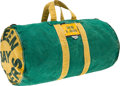 Football Collectibles:Others, 1960's Green Bay Packers Game Used Equipment Bag. ...