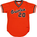 Baseball Collectibles:Uniforms, 1979 Frank Robinson Game Worn Baltimore Orioles Coach's Jersey. ...
