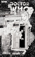 """Original Comic Art:Covers, Dave Sim Doctor Who: Prisoners of Time #9 """"BBC Censors DaveSim"""" Unpublished Variant Cover Original Art (IDW, 2013..."""
