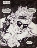 Original Comic Art:Splash Pages, Gil Kane Green Lantern #156 Splash Page Original Art (DC,1982)....