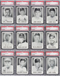 Baseball Cards:Sets, 1960 Leaf Baseball 2nd Series Complete Run (72) - #8 on the PSA SetRegistry. ...