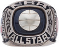 Basketball Collectibles:Others, 1978 Julius Erving NBA All-Star Game Salesman's Sample Ring....