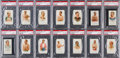 "Baseball Cards:Sets, 1887 N28 Allen & Ginter ""World's Champions"" Near Set (37/50) -#8 on the PSA Set Registry. ..."