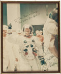 Explorers:Space Exploration, Apollo 11 Crew-Signed Large Color Photo....