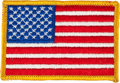 Explorers:Space Exploration, Apollo 12 Flown Embroidered American Flag Directly from thePersonal Collection of Mission Lunar Module Pilot Alan Bean, with...