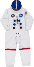 "Explorers:Space Exploration, Apollo 13 Movie Promotional & Display EVA Spacesuit with Boots, PLSS, Gloves, ""Snoopy Cap,"" and Undergarment.... (Total: 6 Items)"