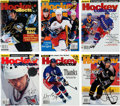 Hockey Collectibles:Publications, 1999-2001 Signed Beckett Hockey Magazine Collection Lot of 36 With3 Gretzky. ...