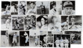 Autographs:Photos, 1980's Deceased Hall of Famers Signed Photographs Lot of 23....