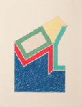 Prints:Contemporary, FRANK STELLA (American, b. 1936). Moultonville, 1974.Lithograph and screenprint in colors. 15-3/4 x 10-1/2 inches(40.0...