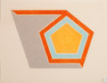 Prints:Contemporary, FRANK STELLA (American, b. 1936). Ossipee, 1974. Lithographand screenprint in colors. 17-1/4 x 22-1/4 inches (43.8 x 56...