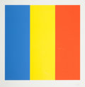 Prints, ELLSWORTH KELLY (American, b. 1923). Blue/Yellow/Red, 1992. Lithograph in colors. 30 x 30 inches (76.2 x 76.2 cm) sight...