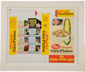 """Baseball Cards:Sets, 1962 Post Cereal """"Corn Flakes"""" Complete Box With Seven Baseball Cards. ..."""