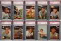 Baseball Cards:Lots, 1953 Bowman Color Baseball PSA NM-MT+ 8.5 and NM-MT 8 Collection(10). ...