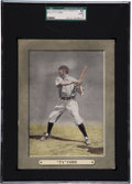 Baseball Cards:Singles (Pre-1930), 1911 M110 Sporting Life Cabinet Ty Cobb SGC 50 VG/EX 4 - Only One Nicer! ...