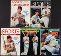 "Baseball Collectibles:Publications, Baseball Greats Signed ""Sports Illustrated"" Magazines Lot of 5...."