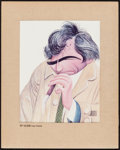 """Movie Posters:Miscellaneous, Peter Falk in Columbo by Al Hirschfeld (TV Guide, 1976). EastmanColor Dye Transfer Print (11"""" X 13"""" image, 16"""" X 20"""" with M..."""