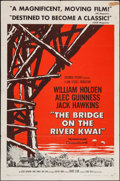 "Movie Posters:War, The Bridge on the River Kwai (Columbia, 1958). One Sheet (27"" X 41"") Style A. War.. ..."